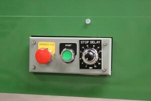 roller press die cutter start stop
